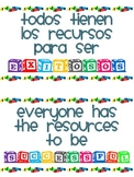 Poster - Everyone has the resources to be successful