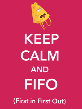 Poster - FIFO First In First Out