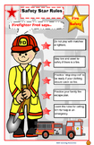 Poster: Community Helper Fire Safety