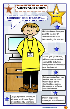 Internet Safety Rules Poster