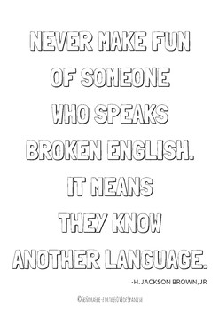 World Language Poster: Know another language