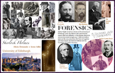 Sherlock Forensic via Drs. Bell Littlejohn Doyle DCI Caminada - FREE POSTER