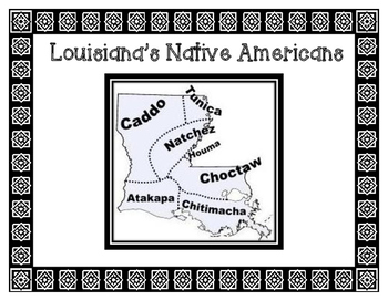 Poster Headers of Louisiana's Native American Tribes