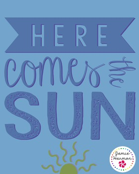 Poster: Here Comes the Sun