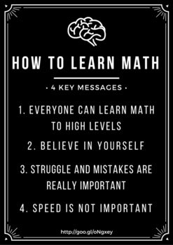 Poster: How To Learn Math