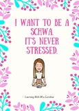 Poster: I want to be a schwa