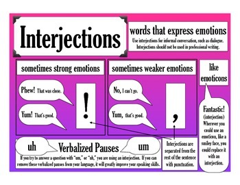 Poster - Interjections