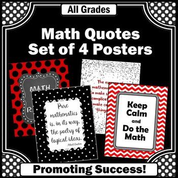 Gift for Teacher Appreciation Week Math Teacher Posters Cl
