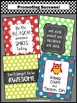 Owl Themed Classroom Decor BUNDLE Keep Calm and Teach On Inspirational Quotes