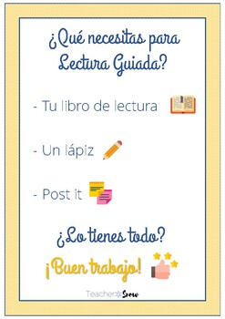 Póster Lectura Guiada - Guided Reading Poster