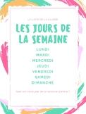 """Poster """"Les Jours de la Semaine"""""""