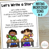 Poster:  Let's Write a Story!