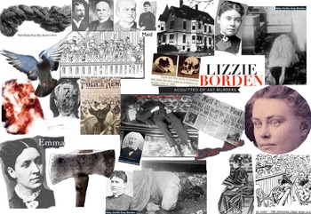 Lizzie Borden FREE POSTER Axe Murders Father & Stepmother Murder Trial Acquitted
