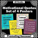 Colorful Classroom Decor, Motivational Posters, Inspirational Quotes