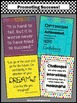 Back to School Classroom Decor, Printable Posters, Motivat