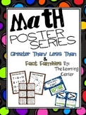 Poster Mini Series: Greater Than / Less Than & Fact Families