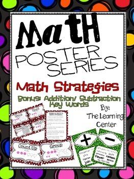Poster Mini Series: Math Strategies