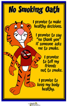 Poster: No Smoking Pledge