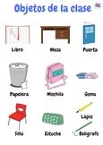 Póster Objetos de la clase