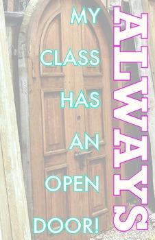 Poster - Open Classroom