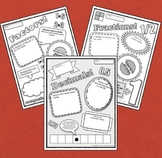 Poster Pack! Fractions, Decimals and Factors Graphic Organizers... in Disguise
