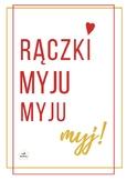 Poster Polish Language Hands Washing