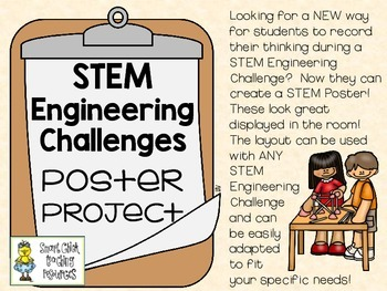 Poster Presentation Project ~ Works for ANY STEM Engineering Challenge