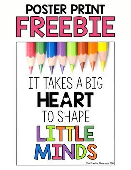 Poster Print Freebie