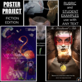 POSTER PROJECT   POSTER PROJECT ANY NOVEL   POSTER ACTIVITY