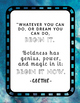 Poster Quotes Bundle | Blue Bokeh Stone | School Counselor