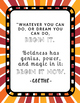 Poster Quotes Bundle | Rainbow Starburst | School Counselor