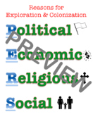 Poster: Reasons for Exploration & Colonization (PERS)