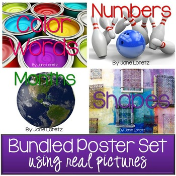 Poster Set Bundled (using real pictures)