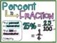 Poster Set:  Percents