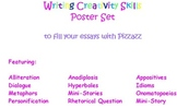 Poster Set of Creativity Skills to add Pizzazz to Your Writing