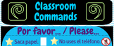 Poster - Spanish Classroom Commands