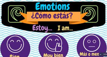 Poster - Spanish Emotions
