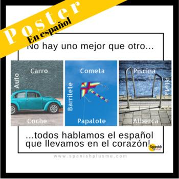 Poster: Spanish Variations (Español)