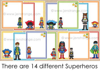 Poster Starters: Super Friends - add your own text!