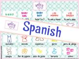 Póster & Stickers: Vocabulario Infantil: bebés (Spanish)
