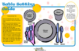 Poster: Table Setting Guide