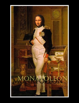 "Photoshop Poster: ""The MONApoleon"""