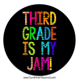 Third Grade is My Jam! Artwork