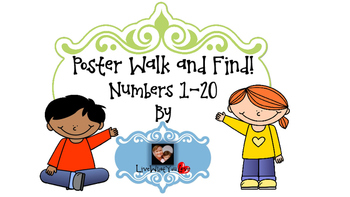 Poster Walk and Find Tens Frames