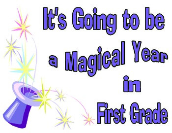 Poster Welcome - Theme Magical Year