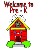 Poster (Welcome to...) - Theme Schoolhouse