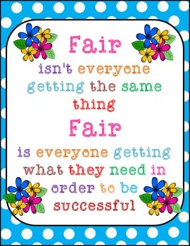Poster: What is fair?