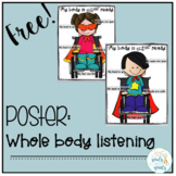Poster: Whole Body Listening - Superhero Wheelchairs