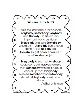 Poster: Whose Job Is It?