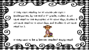 Poster ... Why Read At HomeFREEBIE